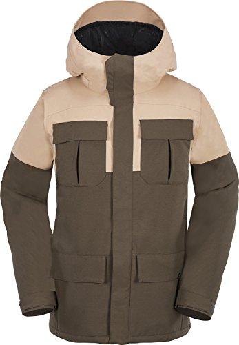 Volcom Men's Alternate Jacket, Teak, L