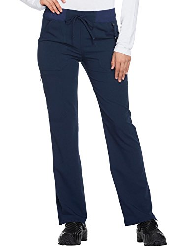 Dickies Xtreme Stretch Women's Drawstring Straight Leg Scrub Pant Large Petite -