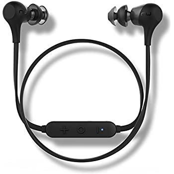 Optoma NuForce BE2 Wireless Bluetooth Earphones with patented SpinFit eartips, 10h battery, microphone, AAC support for iPhone