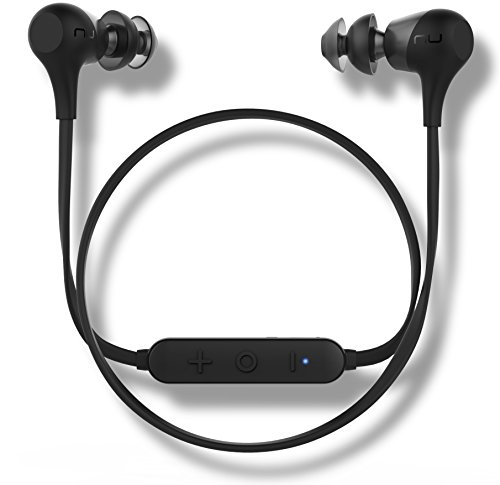 Optoma Audio Cable - Optoma NuForce BE2 Wireless Bluetooth Earphones with Patented SpinFit eartips, 10h Battery, Microphone, AAC Support for iPhone