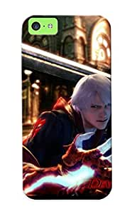 For Iphone Case, High Quality Dante - Devil May Cry 4 For Iphone 5c Cover Cases / Nice Case For Lovers' Gifts