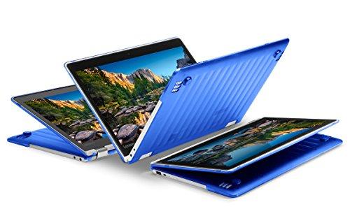 """iPearl mCover Hard Shell Case for NEW 13.3"""" Lenovo Yoga 720 (13) laptop (BLUE)"""