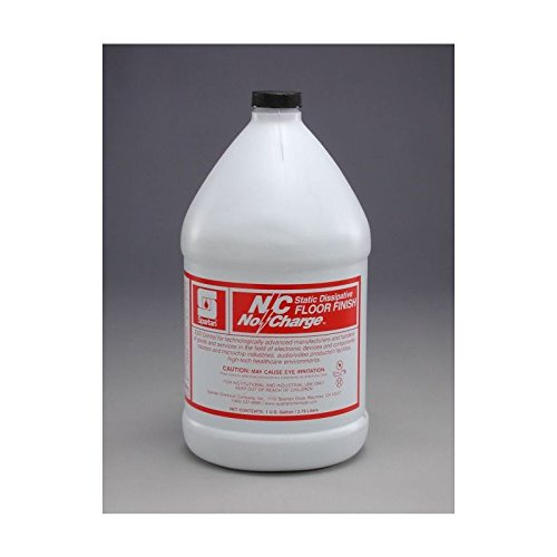 Spartan N/C No Charge Static Dissipative Floor Finish, Gallons,4 Per Case by SPARTAN (Image #1)