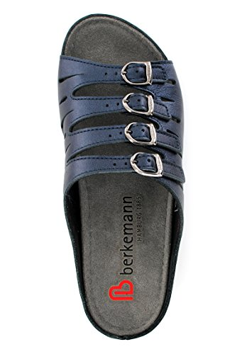 Berkemann Hassel 00737 Damen Clogs & Pantoletten Blau