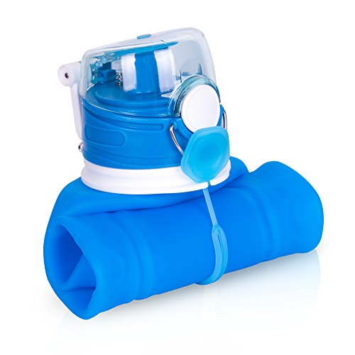 collapsible water bottle 1l - 1