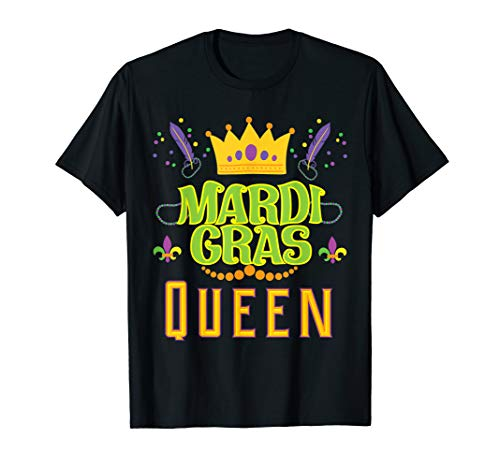 Mardi Gras Queen Carnival Festival Gift T Shirts -