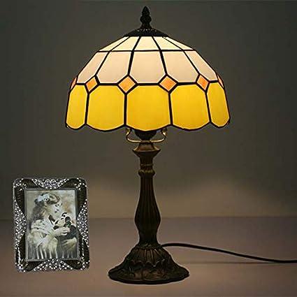 BDHBB Lámparas de Mesa Estilo Tiffany, 10 Pulgadas Luces de ...