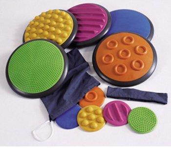 American Educational Products Taktile Scheiben Set von 5