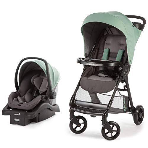 Safest Infant Travel System - Safety 1st Smooth Ride Travel System with OnBoard 35 LT Infant Car Seat, Moss Green