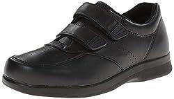 Propet Men's Vista Strap Shoe,Brown,8.5 D US
