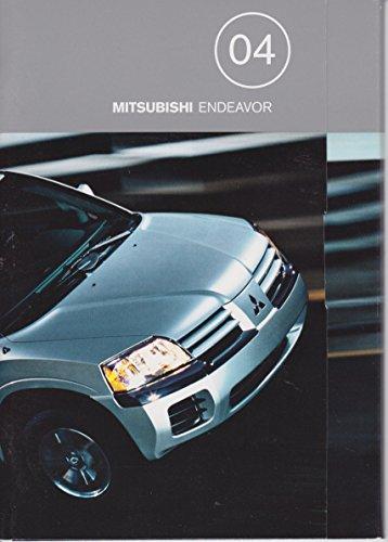Mitsubishi Endeavor SUV - 2004 Sales Brochure