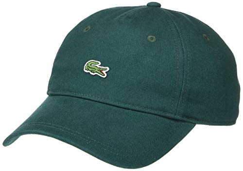 Lacoste Mens Small Croc Strapback Cap Cap, Beeche Green, One Size from Lacoste
