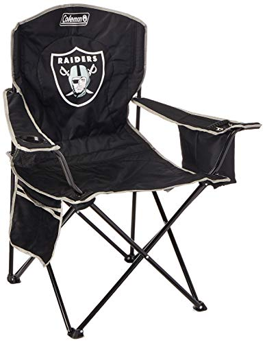 (NFL Portable Folding Chair with Cooler and Carrying Case)