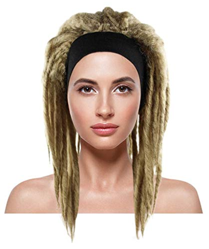 Halloween Party Online Deluxe Dreadlock Wig, Dirty Blonde Adult HW-1522 -