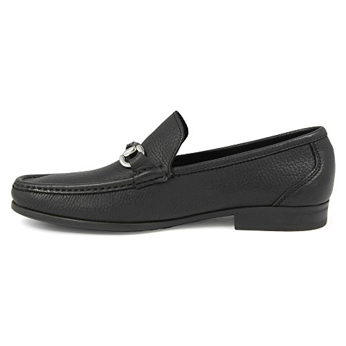 Loafer On Slip Bit Men's Tumbled Florsheim Leather Black Felix wxCXaIntgq