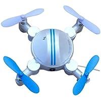HP95(TM) Mini RC Quadcopter 2.4GHz 4CH 6-Axis Gyro 3D UFO Drone FPV WIFI Nano Camera (White)