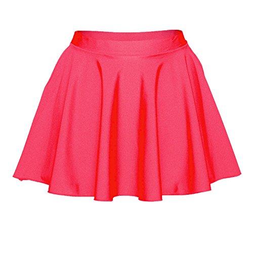 Starlite circulaire Jupe en Nylon Lycra pour femme Red