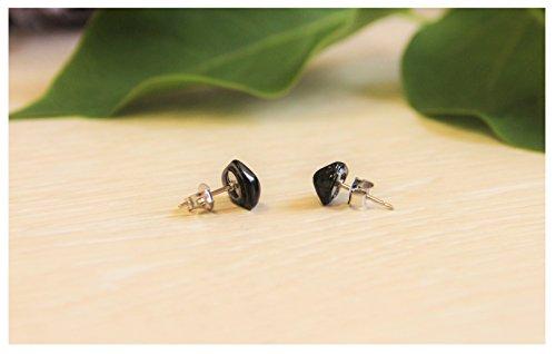 Polished Nugget Earrings - 8