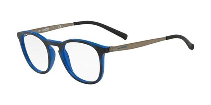 Arnette 0AN7151, Monturas de Gafas para Mujer, Matte Blue Havana, 48