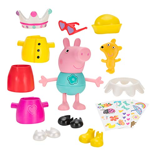 Peppa Pig Talking Dress Up Peppa Large Figure