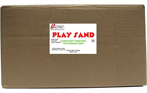Activa Play Sand, 25-Pound, White