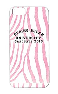 TPU Funny Provocative Provocative Spring Break Dirty Funny Black Shock-absorbent Graduate For Iphone 5c Cover Case