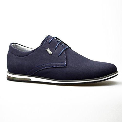 ClassyDude , Herren Sneaker Blau Marineblau