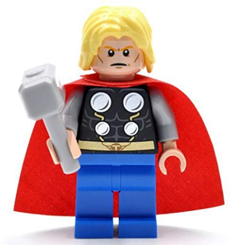 Lego Marvel Super Heroes 76018 Minifigure Thor with Hammer