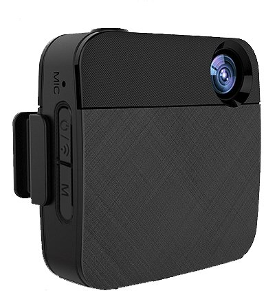 WOLFCOM Capture - Wearable body camera that records and Livestreams to Facebook and YouTube. by WOLFCOM