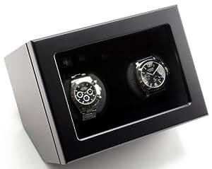 Heiden Prestige Dual Watch Winder - Black