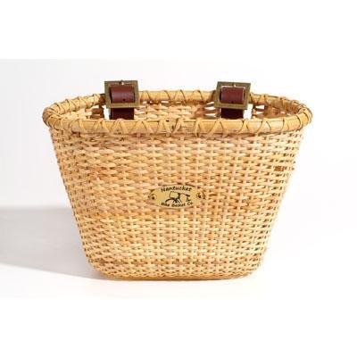 Nantucket Lightship Junior Oval Front Handlebar Bike Basket