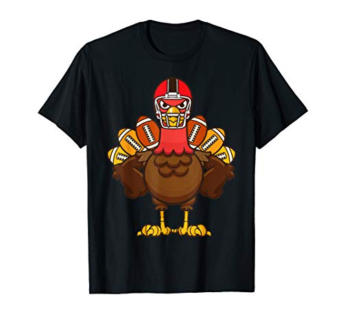 Cool Thanksgiving Football Shirt | Gobble Player