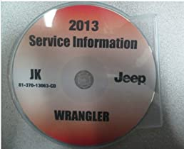 2013 jeep wrangler service information shop repair manual cd dvd oem rh amazon com 2013 jeep wrangler maintenance manual Jeep Wrangler Manual Online