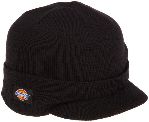 Dickies Men's Knit Radar with Cuff, Black, One Size