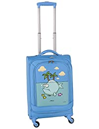 Ed Heck Big Fish Spinner Luggage 21-Inch, Sky Blue, One Size