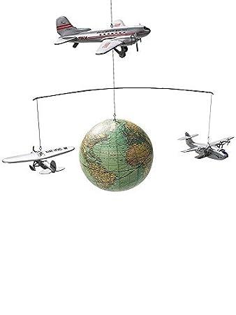 Authentic Models f/ünf Weltkugeln aus f/ünf Jahrhunderten GL060 Globen Mobile Globus Mobile