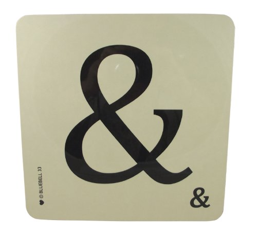 Bluebell Alphabet Coasters - Personalise Table Family Names Words (&)