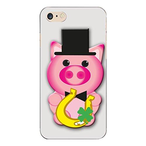 "Disagu Design Case Coque pour Apple iPhone 7 Housse etui coque pochette ""Glücksschwein No.2"""