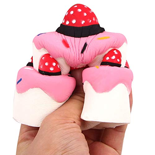Little Story  Fun Dolls Clearance , Squishies Strawberry Cake Scented Slow Rising Squeeze Toys Stress Reliever Toys