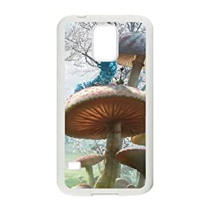 Samsung Galaxy S5 Cell Phone Case White Alice in Wonderland Character Alice HG7623145
