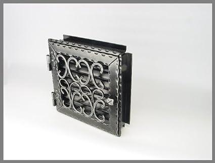 Tubo estufa puerta y puerta y rejilla de aire caliente rejilla de aire frío rejilla rejilla