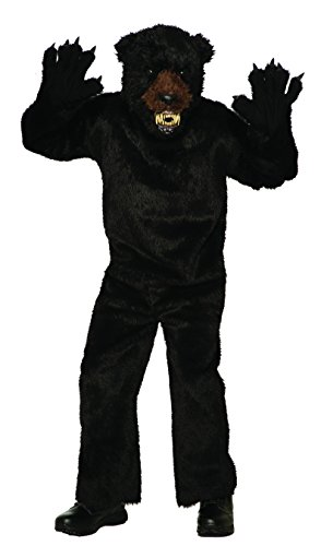 Forum 79308 Men's Deluxe Scary Bear Costume, Standard, Black, Pack of 1