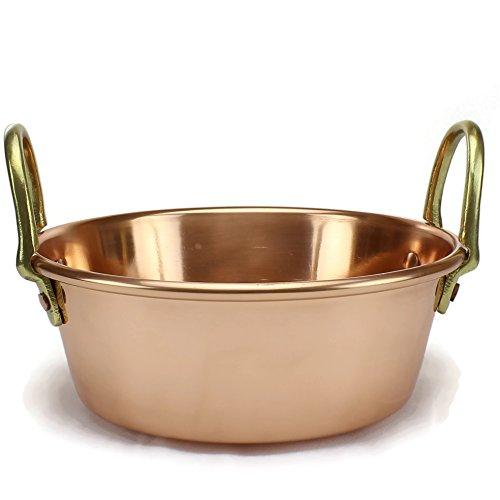 Copper jam pan 11 inch
