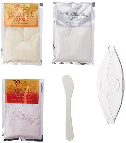 VG Facial Soft Mask DIY Kit for Brightening and Firming all Types of Skin
