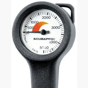 Scubapro Pressure Gauge, Imperial