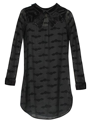 Iron Fist Madamned Shirt Dress Kleid schwarz XL