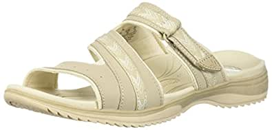 Dr. Scholl's Shoes Women's Day Slide Sandal, Taupe Action Leather, 6 M US