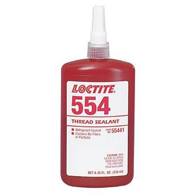 554 Thread Sealant, Refrigerant Sealant Cap. Vol.: 10 mL (part# 25882)
