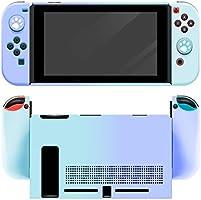 【Nintendo switch対応・シリコンケース】スイッチ カバー 5点セット ソフトケース Joy-Conカバー アナログスティックカバー 肉球カバー 分体式 全面保護ケース 耐久性 柔軟で変形ににくい キズ防止 衝撃吸収 着脱簡単 指紋防止