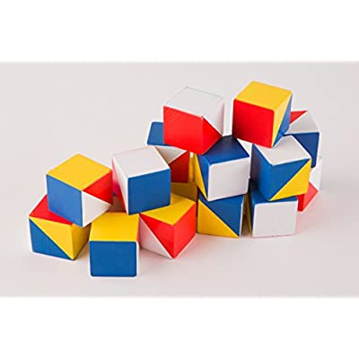 Wooden cubes FIND A PATTERN blocks - kids educational toys improve memory attention logical creative thinking imagination learning toys for kids by Nikitin: Toys & Games